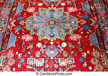 Carpet - Oriental Persian Carpet. Detail. Texture