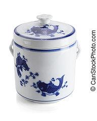 Oriental Porcelain Container