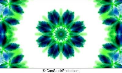 oriental religion flower pattern