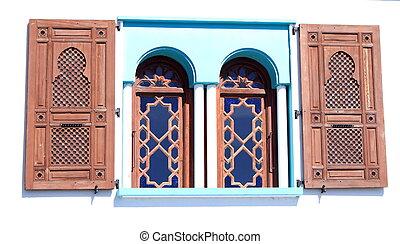 Oriental style window
