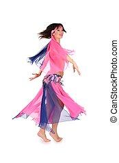 orientale, ballo, donna, 2