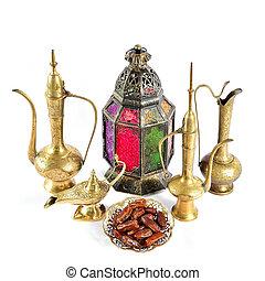 orientalische , feiertage, dekoration, islamisch, gastfreundschaft, ramadan