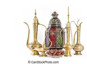 orientalische , feiertage, dekoration, ramadan, kareem, eid, mubarak