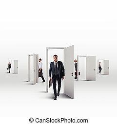 orientieren, arbeitende , karriere, viele, wahlen, wählen, zwischen