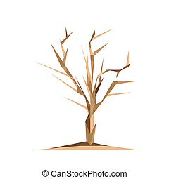 origami, árbol