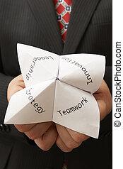 origami, ビジネスマン