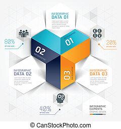 origami., ビジネス, infographics