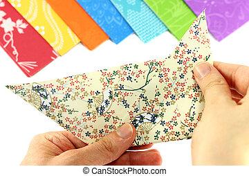 origami, 折りたたみ