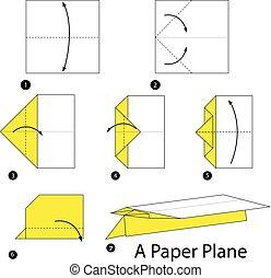 origami A Paper Plane.
