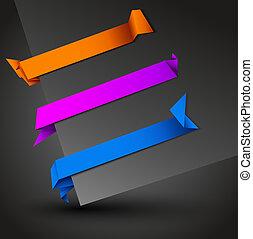 origami baner