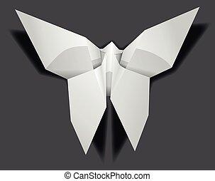 white filigree art china folding art thin