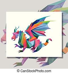 Origami Epic Dragon design