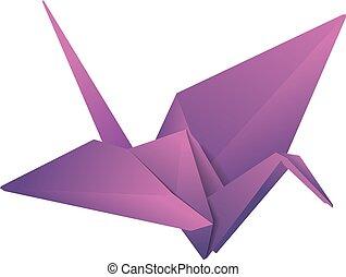 origami, grúa