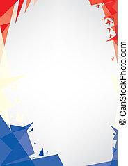 origami, háttér, franciaország