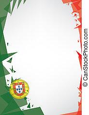 origami, háttér, portugália