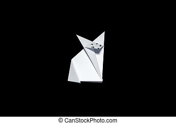Origami in shape of Fox