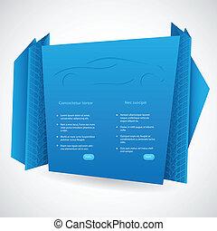 origami, infographic, デザイン
