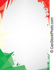 origami, italia, plano de fondo