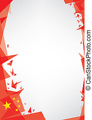 origami, kína, háttér