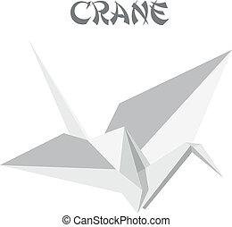 origami, kraan
