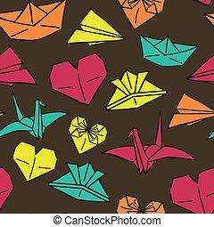 origami, modèle