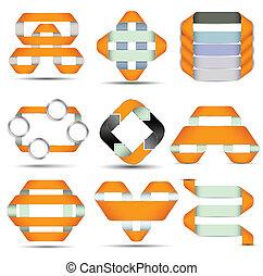 Origami modern set