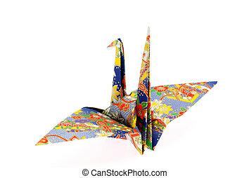 origami, oiseau