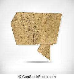 origami, papel, antigas