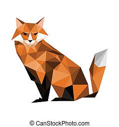 origami, raposa