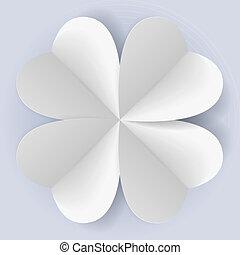 origami, romantique