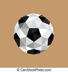 origami soccer boall
