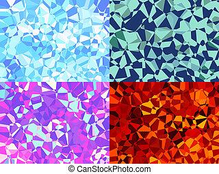 Origami textures