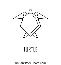 Tortue Contour Icone Tortue Contour Arriere Plan Traditions