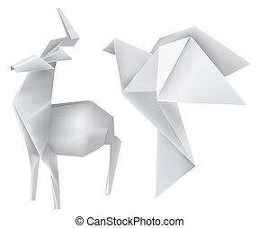 origami_deer_dove
