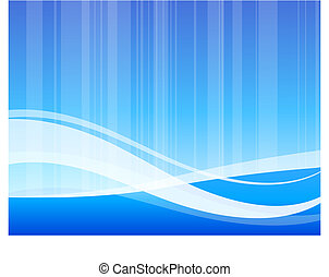 Origianl Vector Illustration: blue abstract internet background wave pattern File is AI8 compatible