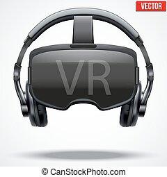 Original 3d VR headset - Original stereoscopic 3d vr mask...