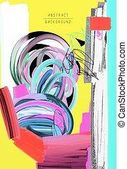original artistic abstract creative universal design, you...