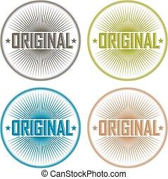 Original badges