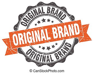 original brand stamp. sign. seal