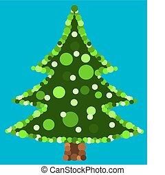 Original Christmas tree