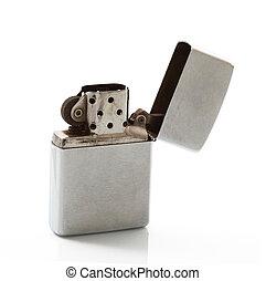 cigarette lighter on white background