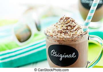 Original cold chocolate drink - Gourmet original cold...