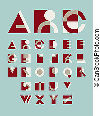 original geometric alphabet