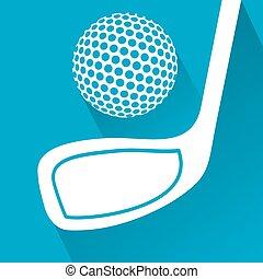 original golf symbol
