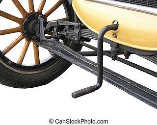 original, igangsætter, motor