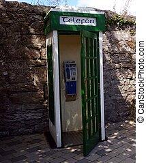 Original Irish Telephone Kiosk