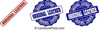 ORIGINAL LEATHER Grunge Stamp Seals