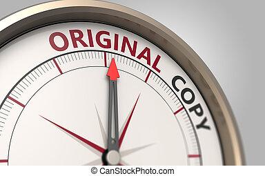 Original or copy