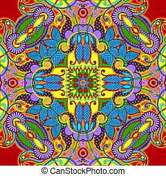 original paisley seamless pattern