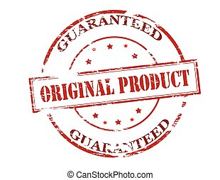 Original product guaranteed